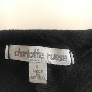 Charlotte Russe Tops - 3 for 15$ Black J'adore Paris graphic tee